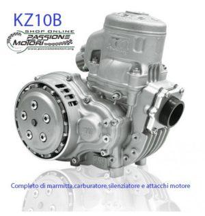 Preparazione KZ10B - Silenziatore Carbonio