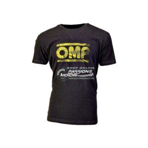 T-Shirt OMP Racing Nera