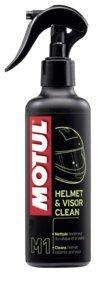 M1 Helmet & visir clean