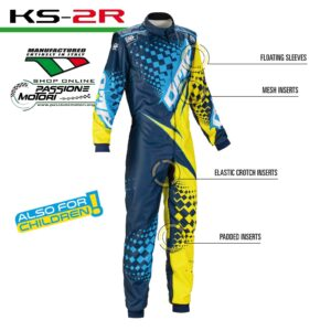 Tuta KS-2R Blu/Giallo